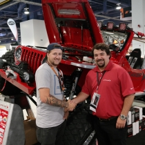 Jordan won a new set of Off-Road Lights at SEMA 2016!