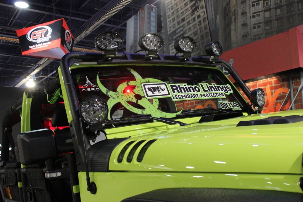 Sema Show Project Infected Jeep