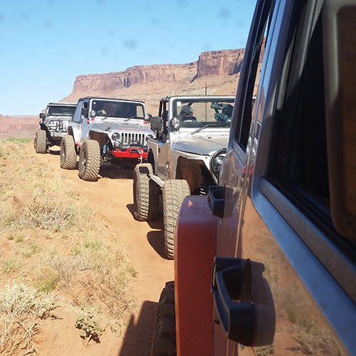J.W. Speaker at Easter Jeep Safari
