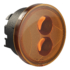 LED Front Turn Signal Model 239 J2 Series Amber 3/4 View