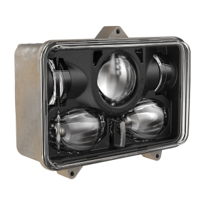 LED Headlight Model 8820 3-Point Mount 3/4 View