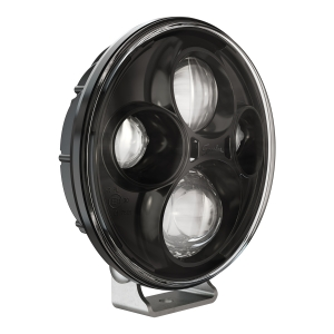 LED Off Road Light Model TS4000 Black 3/4 View