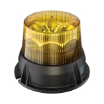 LED Strobe Light Model 406 Amber 3/4 View