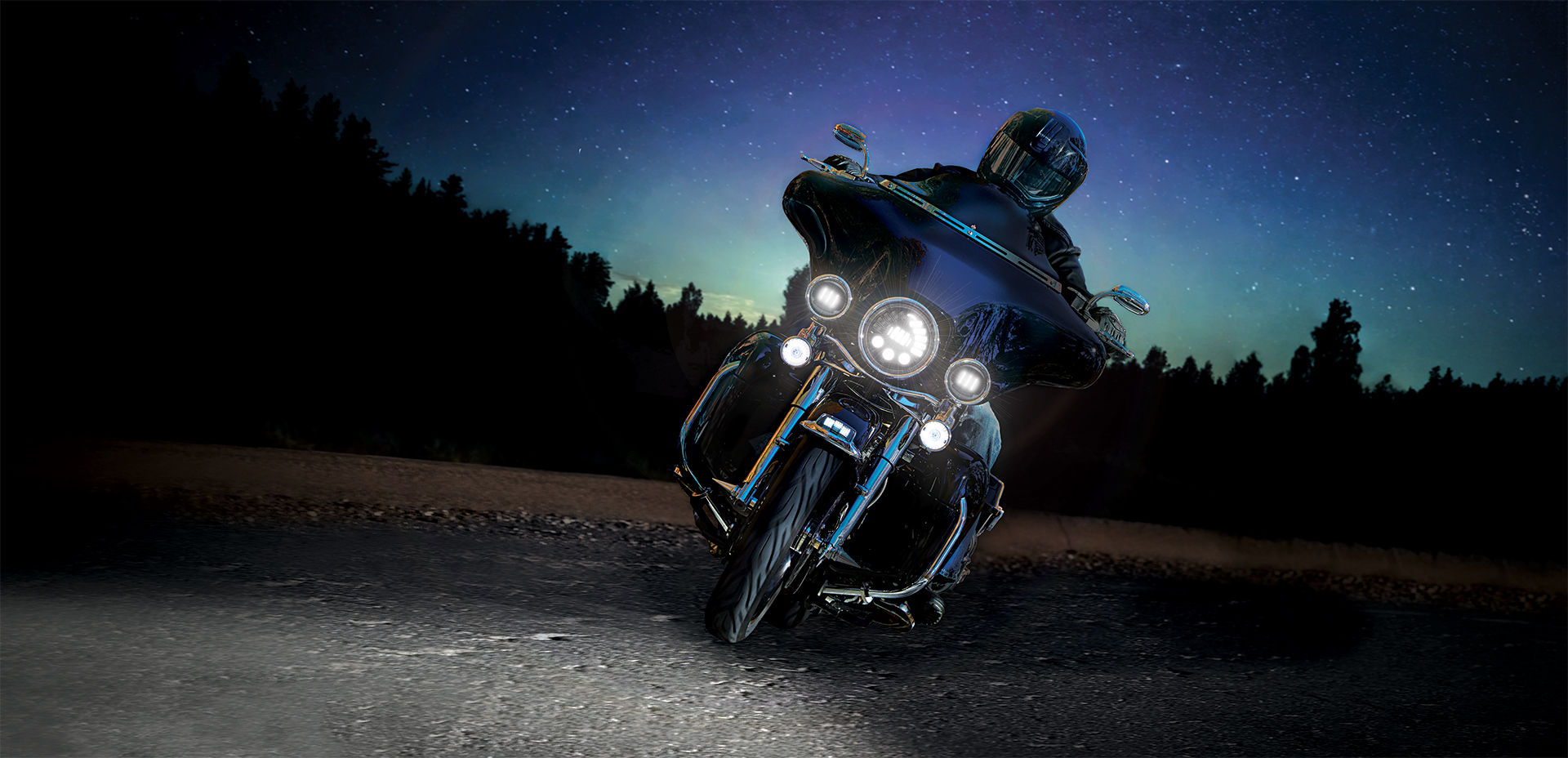 The Nw Adaptive 2 Series LED Motorcycle Headlights. Now with Adaptive Functionality on High Beam!