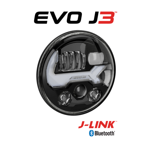 EVO J3 Black RH 34 View with Logos
