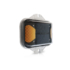 led amber solar light 34 view with reflection