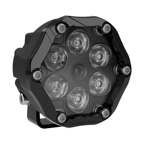 JW Speaker led auxiliary light trail 6 black