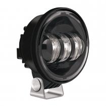 LED Fog Light Model 6150 Black 3/4 View