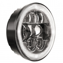 LED Headlight Model 8630 Evolution 3/4 View Daytime Running Light Optics