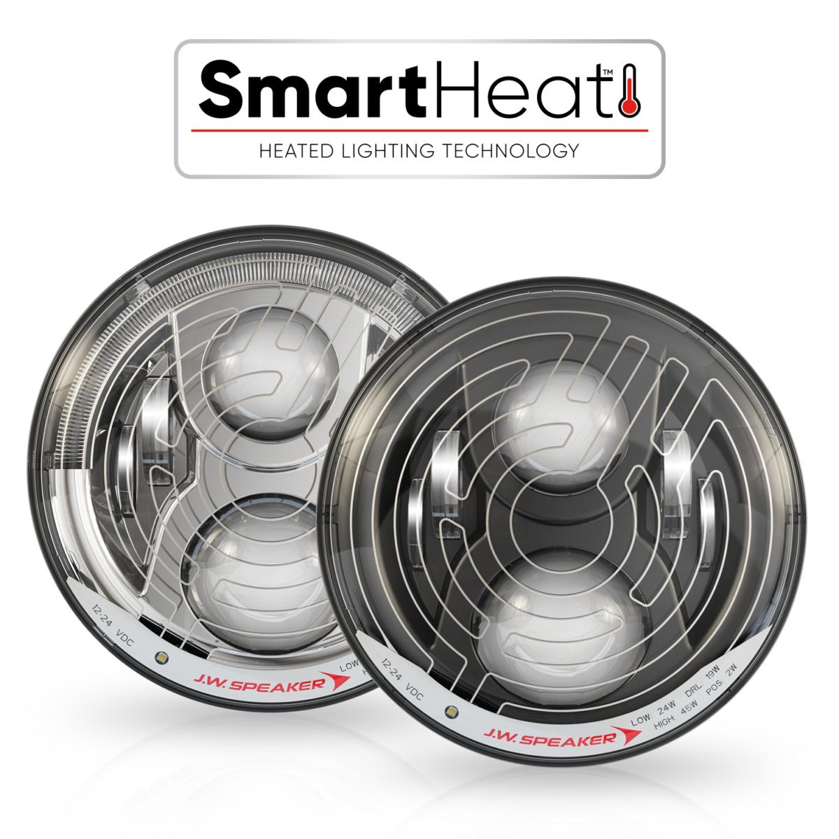 7 Led Headlights Model 8700 Evo 2 Dual Burn Kc Lights Wiring Diagram To Highbeem Specifications Dealer Locator