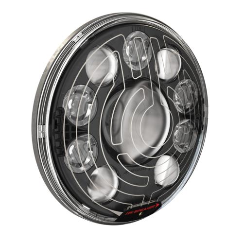 LED Headlight Model 8770 Heated Locomotive 3/4 View