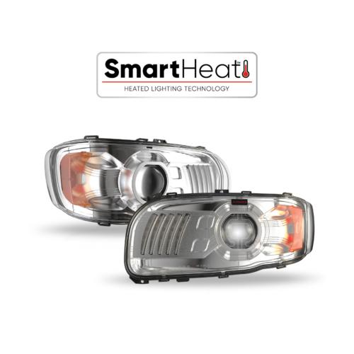 Peterbilt LED Headlight - Heated
