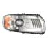 Peterbilt 389 LED Headlight Model 9600 RH Chrome Front View