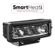 The Model 9800 Heated LED headlights from J.W. Speaker feature SmartHeat technology to automatically de-ice lneses!