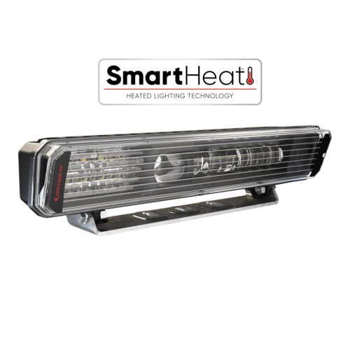 LED Heated Snow Plow Light Model 9900 LP, Left Hand Lamp with SmartHeat Logo