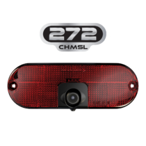 LED Tail Light Model 272 CHMSL with Camera Front View with Logo