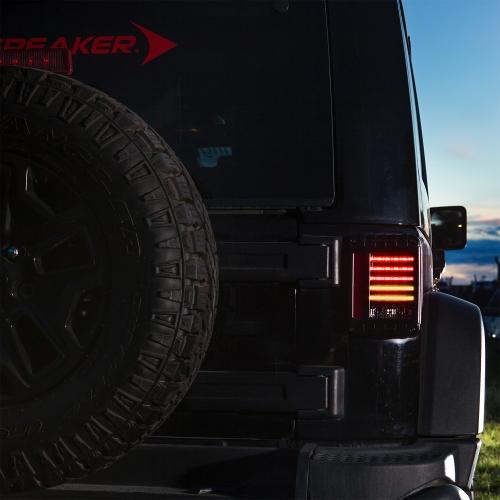 Jeep LED Tail Lights - Model 9 J Series Off Road Lights