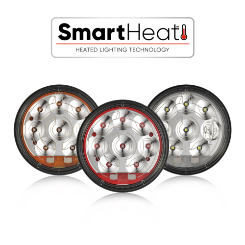 The Model 234 Heated LED turn signals from J.W. Speaker feature SmartHeat technology to automatically de-ice lneses!