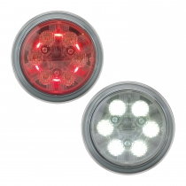 LED Work and Tail Light Model 6043 Combined View