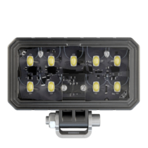 LED Work Light Model 792 with Pedestal Mount Black PCB Front View