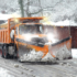 Model 9800 HS on Orange Snow Plow