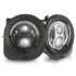 LED Jeep Renegade Headlight - Model 8700 Evolution 2R Black & Chrome Combined