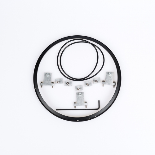 Motorcycle Adapter Ring Kit with Black Ring